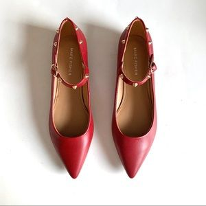 New Marc Fisher pointed Toe Mary Jane Flats